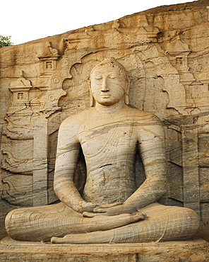 Gal Vihara Temple, Polonnaruwa, UNESCO World Heritage Site, North Central Province, Sri Lanka, Asia