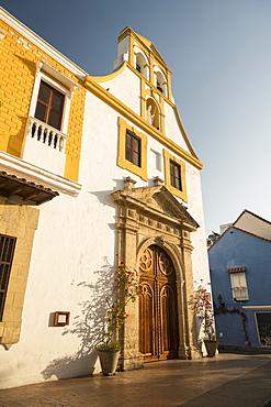 Parroquia de Santo Toribio de Mogrovejo, Old City, Cartagena, Bolivar Department, Colombia, South America