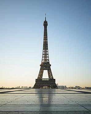 Eiffel Tower, Palais de Chaillot, Paris, Ile-de-France, France, Europe