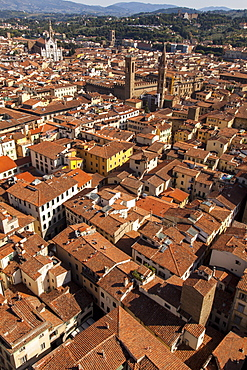 Roof tops of Florence, Italy, Tuscany, Europe