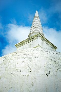 Kiri Vehera Dagoba stupa at Polonnaruwa, UNESCO World Heritage Site, Sri Lanka, Asia