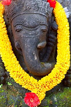 Decorated Ganesh statue in Ubud, Bali, Indonesia, Southeast Asia, Asia