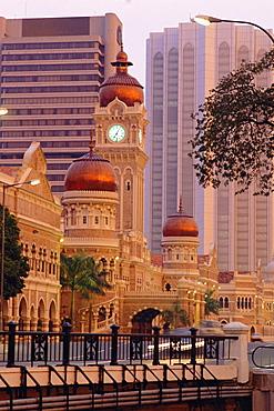 Secretariat building, Kuala Lumpur, Malaysia