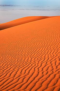 Desert sand ripples, Morocco, North Africa, Africa