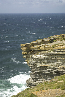 Rocky west coast of mainland Orkney, Scotland, UK