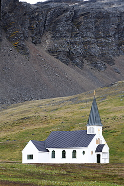 Whalers church in Grytviken, South Georgia, Polar Regions