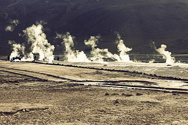 El Tatio Geyser field, Chile, Antofagasta Region, El Tatio Geyser field