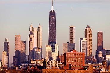 City skyline, Chicago, Illinois