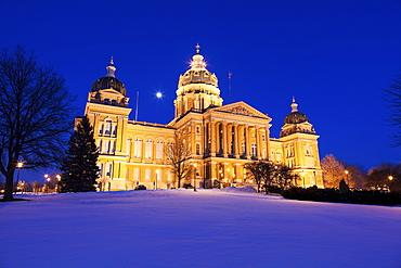 State Capitol of Iowa, Des. Moines, Iowa