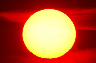 Close-up of sun