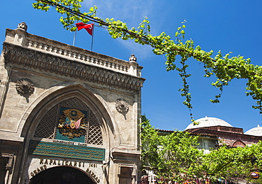 Turkey, Istanbul, Grand Bazaar entrance