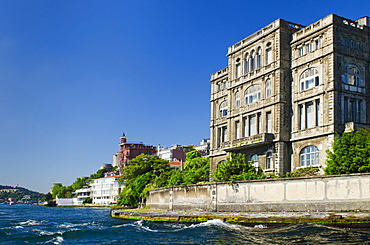 Turkey, Istanbul, Yali on the Bosphorus