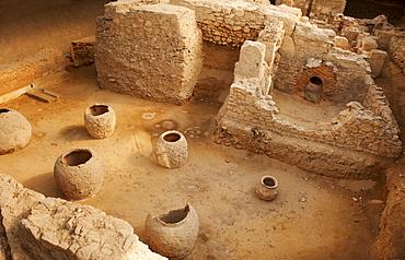 Greece, Athens, Archaeological site of Roman Bath