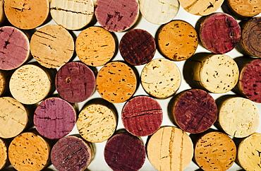Wine cork tops