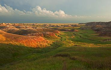 USA, South Dakota, Badlands National Park, Landscape