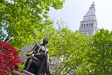 Statue of William Seward in Madison Square Park