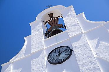 View of San Sebastian Shrine, Mijas, Spain