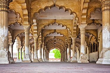 India, Uttar Pradesh, Agra, Agra Fort, Hall of Public Audience, India, Uttar Pradesh, Agra, Agra Fort