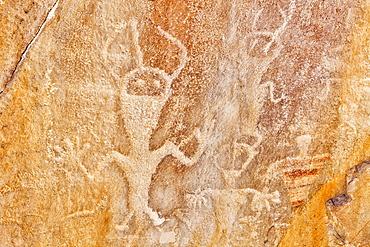 USA, Utah and Colorado, Dinosaur National Monument, Petroglyphs, USA, Utah and Colorado
