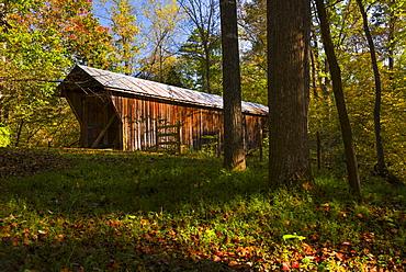 Bunker hill covered bridge, Catawba County, North Carolina