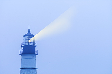 Lightbeam from Portland Head Light, Portland, Maine