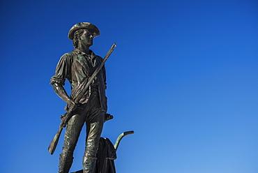 Minutemam statue, Concord, Massachusetts