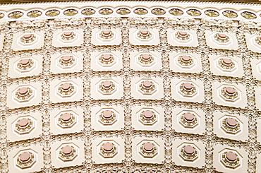 USA, Washington DC, Capitol Building, Close up coffers