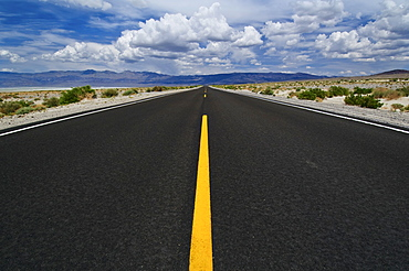 A scenic and empty road
