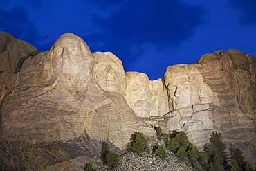 Mount Rushmore National Memorial, USA, South Dakota, Black Hills, Mount Rushmore National Memorial