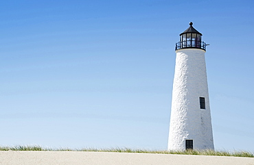 View of lighthouse, Nantucket, Massachusetts, USA