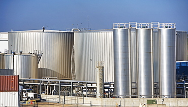 Industrial processing plant