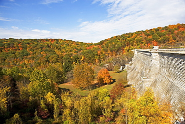 USA, New York, Croton, landscape