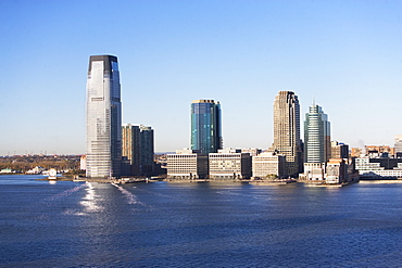 USA, New Jersey, Jersey City skyline