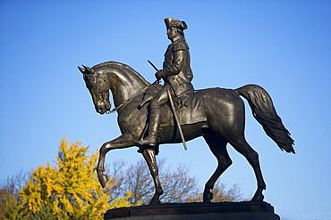 USA, Massachusetts, Boston, George Washington statue in Public Garden