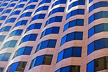 USA, Massachusetts, Boston, facade of building