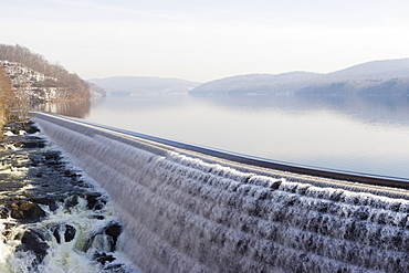 USA, New York State, Croton on Hudson, Hydroelectric power generation
