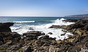 Coast of Atlantic Ocean, Sintra, Portugal
