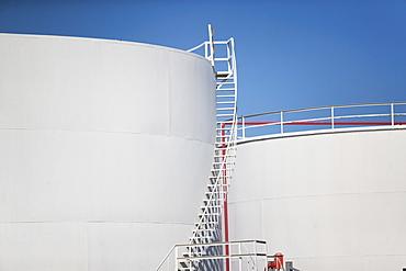 USA, New York State, New York City, Oil tank