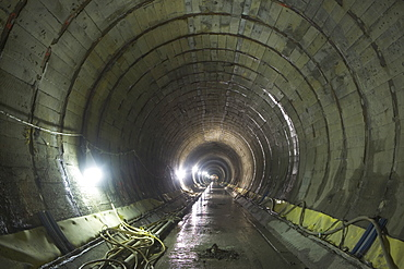Construction of Second Avenue Subway