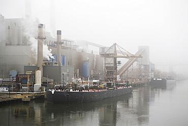 Oil tanker boat, New York City