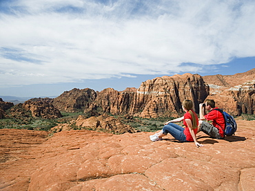 Two kids at Red Rock