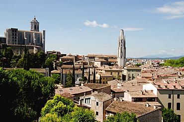 Townscape, Spain, Catalonia, Girona