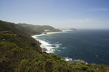 View of coastline, Big Sur, Monterey, California