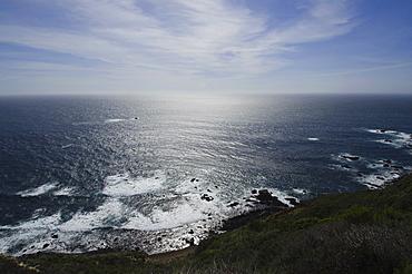 Tranquil seascape, Big Sur, Monterey, California