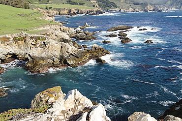 Rocky coastline, Big Sur, Carmel, California