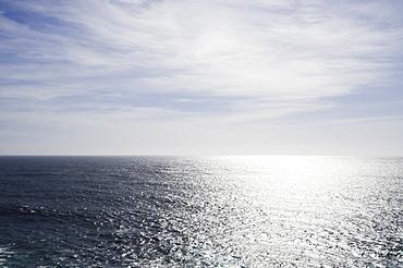 Tranquil seascape, Big Sur, Carmel, California