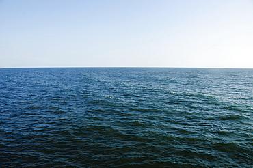Horizon over sea