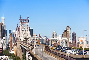 View of Queensboro Bridge, New York City, New York