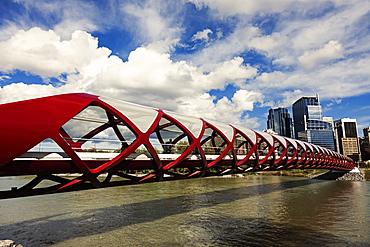 Peace Bridge, Alberta, Canada