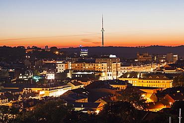 Vilnius TV tower, Lithuania